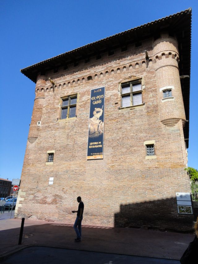 Toulouse - Musée Saint-Raymond, built during Toulouse's apogee