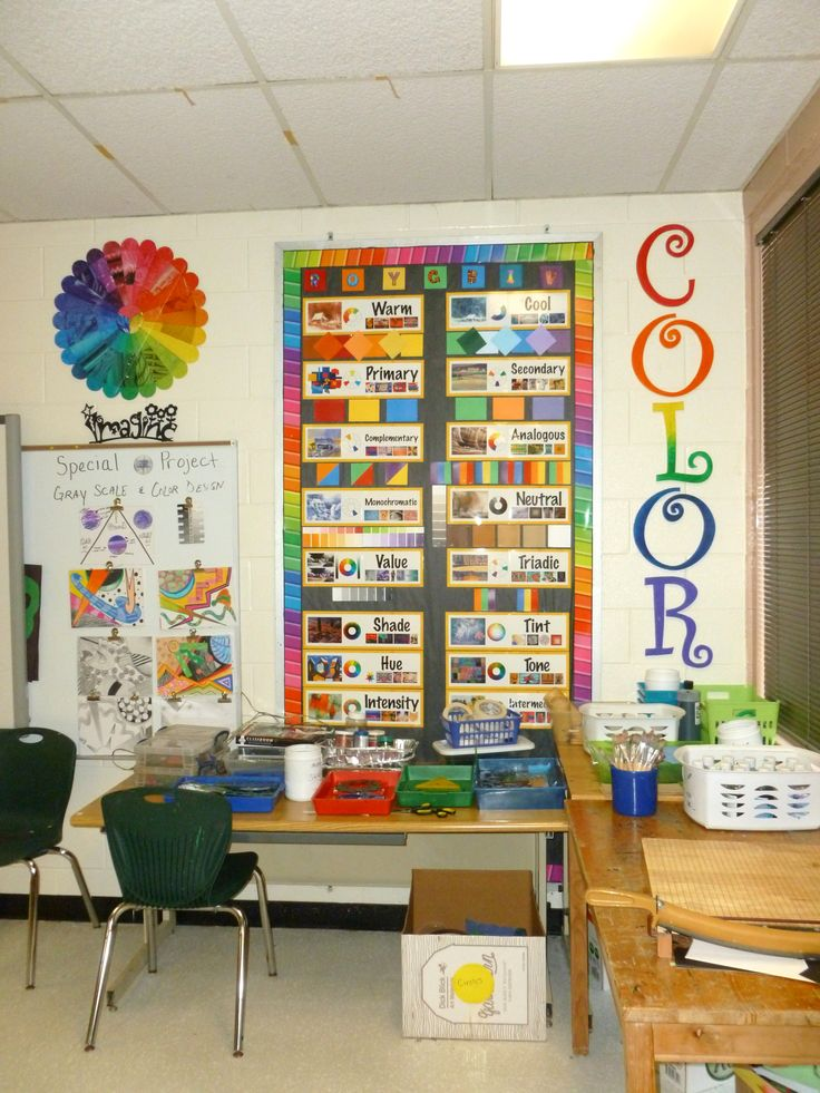 Classroom Decor And Organization ~ Best color wheel ideas images on pinterest