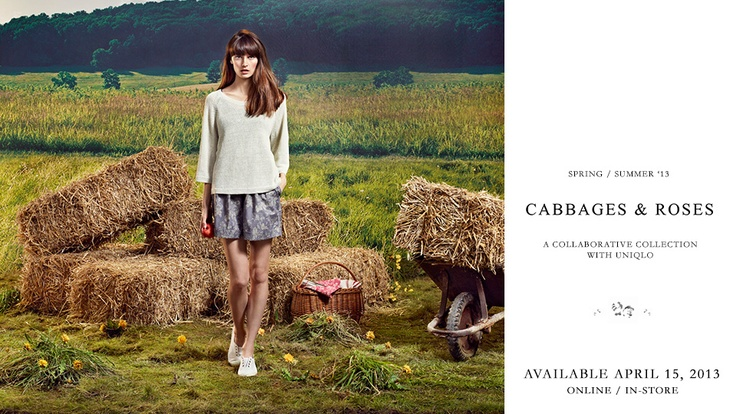 UNIQLO.com | Cabbages & Roses - Shop womens clothing
