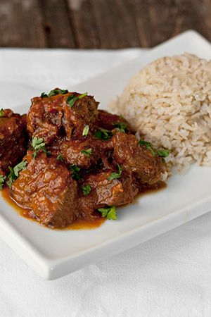 Warm Spiced Beef Curry #AlidaRyder