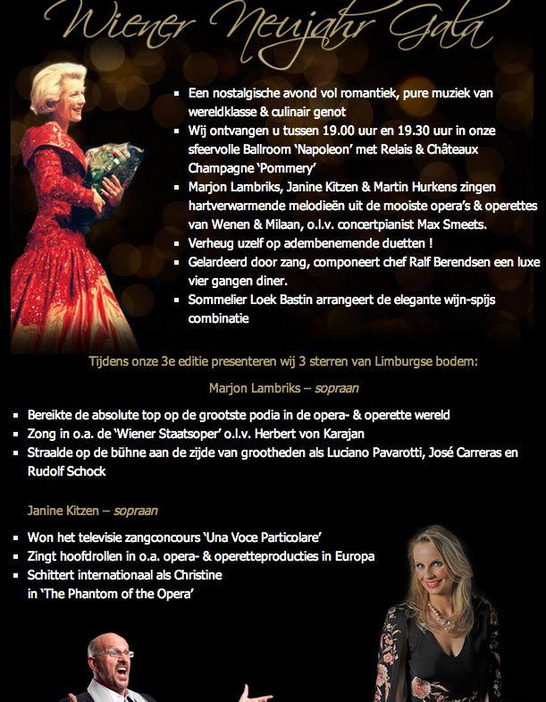 Wiener Neujahr Gala met Marjon Lambriks - jan 2014