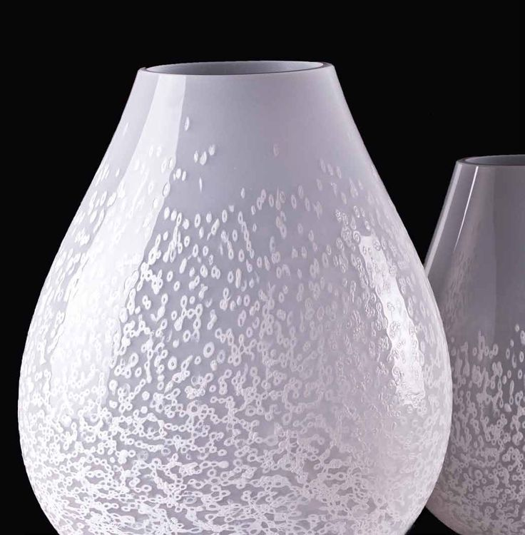 #Sea #fog #crystal #white #opaque #MuranoGlass #table #lamp