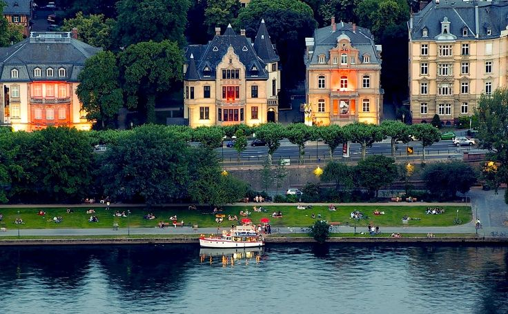 Germany. Frankfurt. river Main.