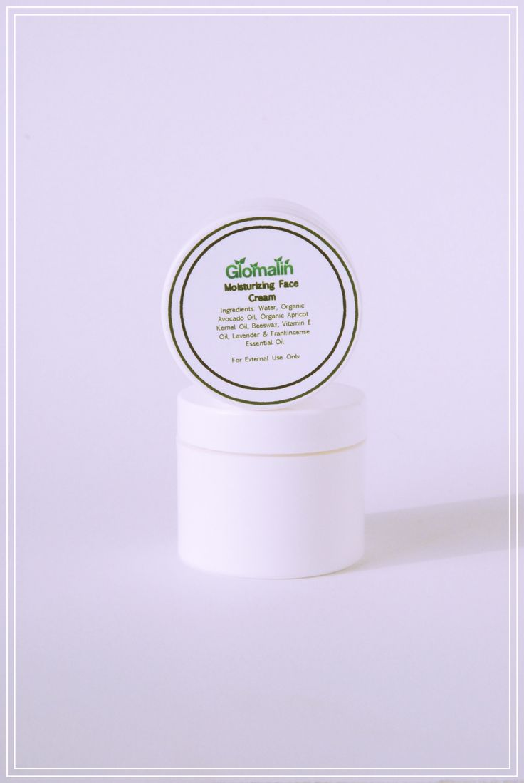 Glomalin Moisturizing Face Cream made from certified organic ingredients, shop at www.glomalin.ca