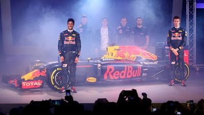 ps: F1 Red Bull reveal 2016