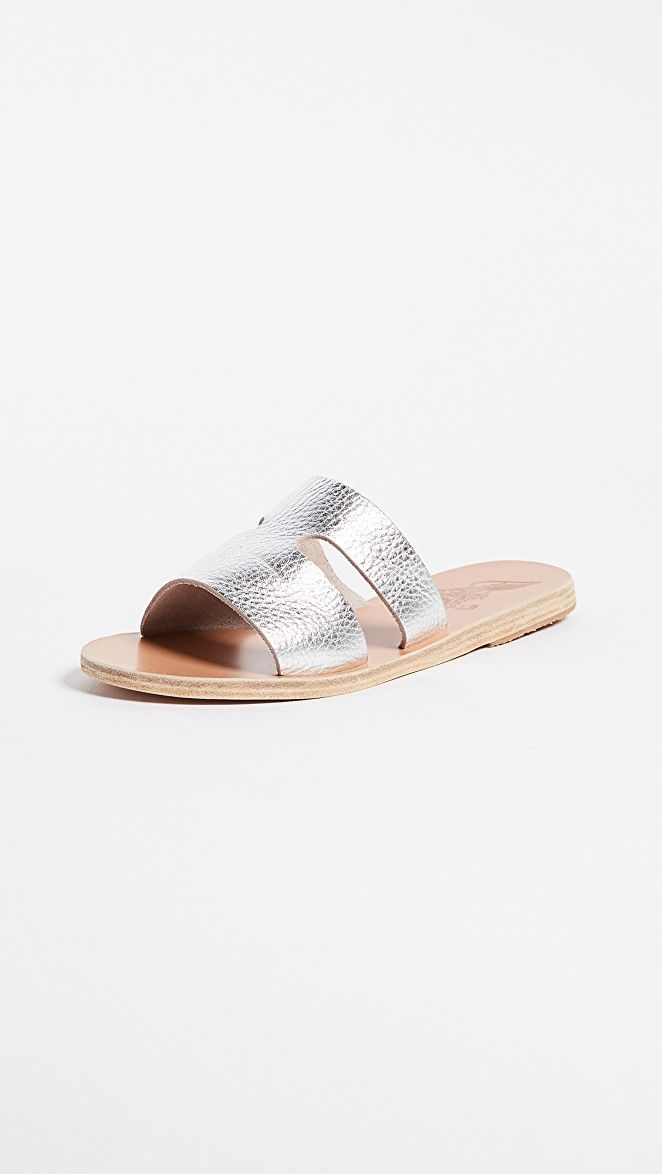 596a2f0facc02 Apteros Slide Sandals | slippers | Sandals, Wedge shoes, Shoes