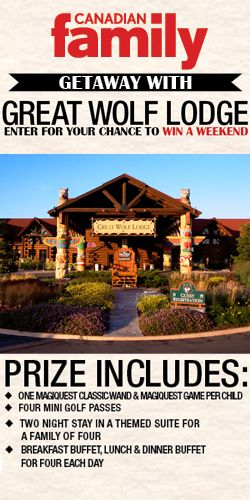 #RePin and Get in the Draw to #Win a #Family #Getaway to Great Wolf Lodge! #holiday #sweeps VALID UNTIL AUG 22