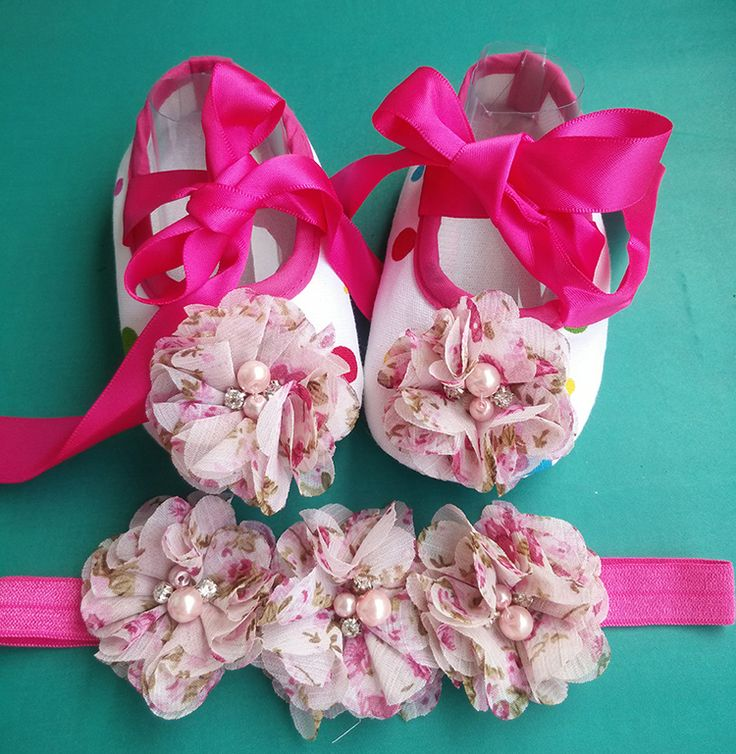>> Click to Buy << Baby girl Vintage Rhinestone/pearl Flower shoe,Ballerina Baby boots toddler girl shoes headband Set,girls baby squeaky shoes #Affiliate
