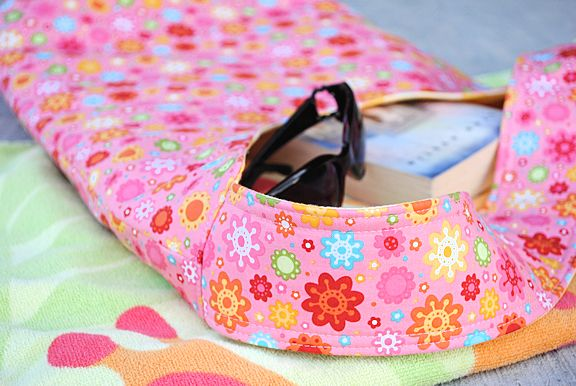 Summertime Beach Bag Tote - Crazy Little Projects