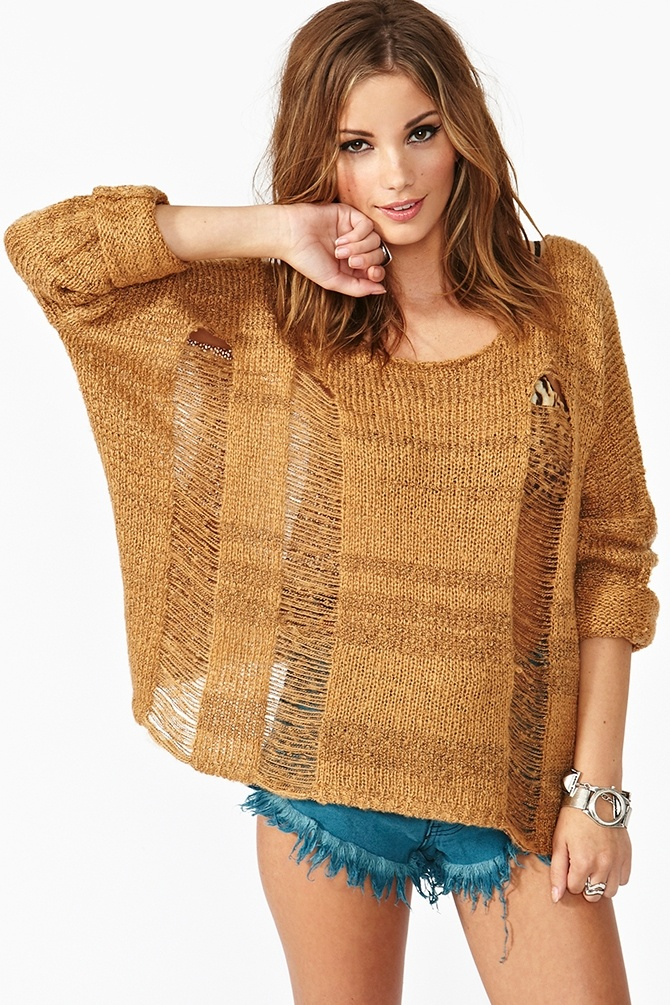 Sahara Shredded Knit