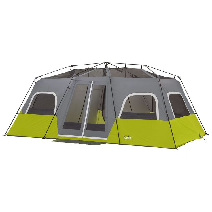 12 Person Instant Cabin Tent 18' x 10' http://campingtentslovers.com/best-camping-tent-review/
