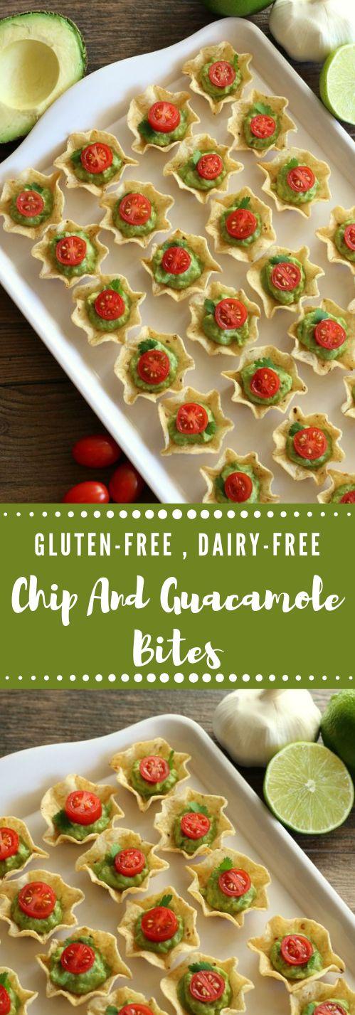 GLUTEN-FREE CHIP AND GUACAMOLE BITES #healthydiet #paleo #keto #gluten #recipes