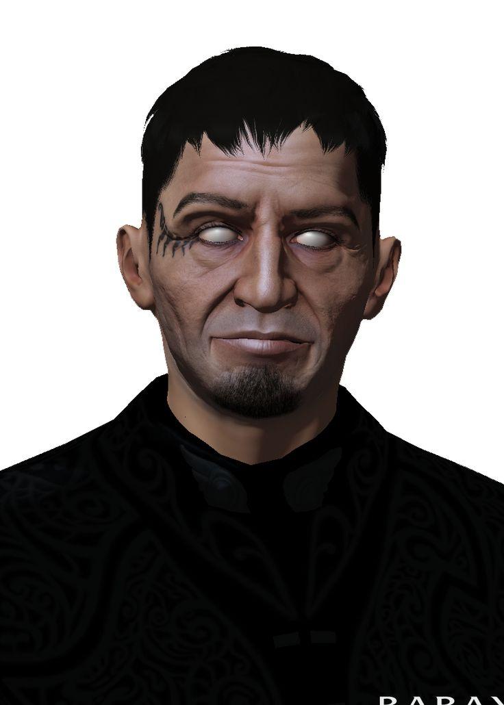 Склеено по фотографии в редакторе персонажей EVE Online за один проход.