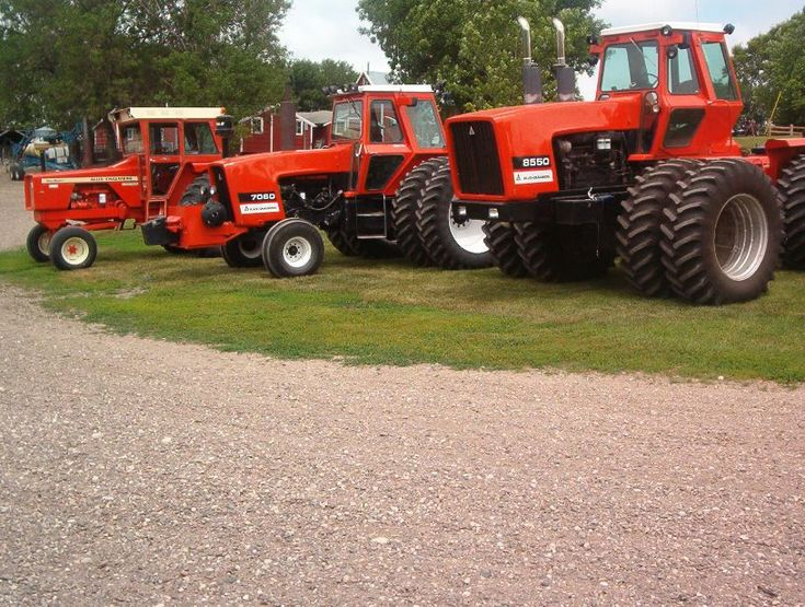 Let's See The 4WD Tractors - AllisChalmers Forum - Page 1 ...