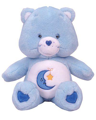 Care Bear Plush Toys | Care Bears Classic Plush with Video: Bedtime Bear