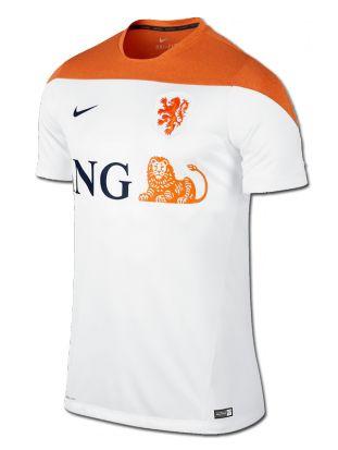 Camiseta de entrenamiento de la selección holandesa para la #WC2014