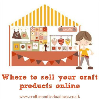 142 best craft business help images on pinterest tips for Free places to sell crafts online