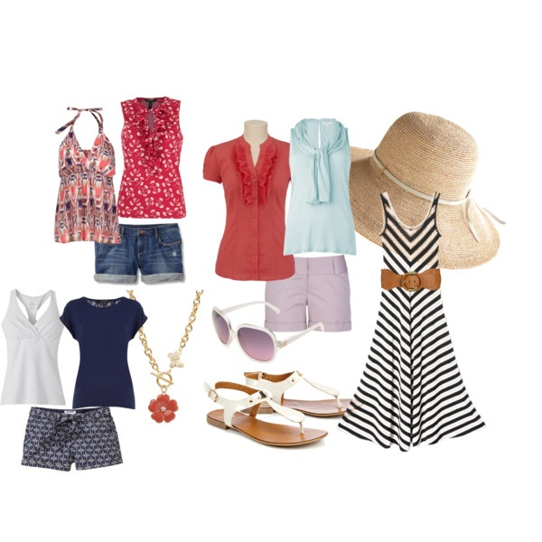 Getting ready to go on vacation for the 4th of July, here's a weeks worth of clothes for the vacation!: Resort Wear, Summer Vacation, July Vacation, July Outfits, Vacation Tips Places, 4Th Of July, Vacation Here S, Beach Vacation