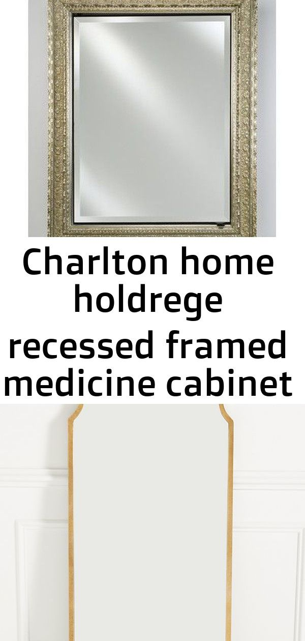 Afina Signature 20 X 26 Recessed Medicine Cabinet Finish Meridian Silver With Silver Caps Adelaide Floor Mirror Ant Charlton Home Recessed Medicine Cabinet