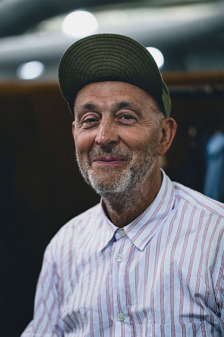 Nigel Cabourn the best fashion for matures is a smile