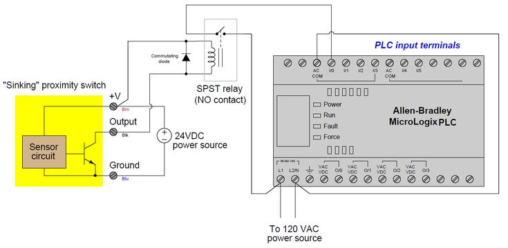 Interposing Relay Is The Auxiliary Relay In Plc Which Is