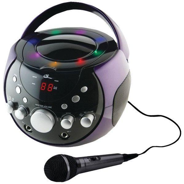 Gpx J082Pr Portable Karaoke Player