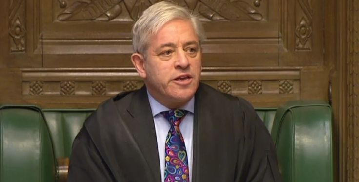 Speaker John Bercow praises 'most diverse' House of Commons as he is re-elected