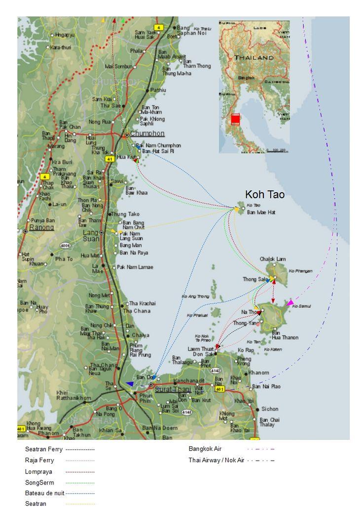 Surat Thani - Koh Samui :: Transport Thaïlande