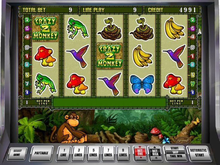 Ausprobieren kostenlos online Spielautomat Crazy Monkey 2 - http://freeslots77.com/de/crazy-monkey-2/