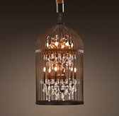 vintage birdcage chandelier