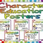 """This set would make a great Character Education display for a """"Word of the Month!""""   There are posters  for  the  following  character  education  ..."""