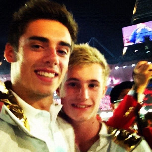 Team GB Olympic Divers  Jack Laugher and Chris Mears