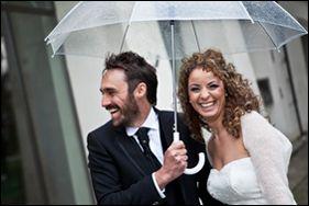 fotografo matrimonio Pinerolo Torino pioggia