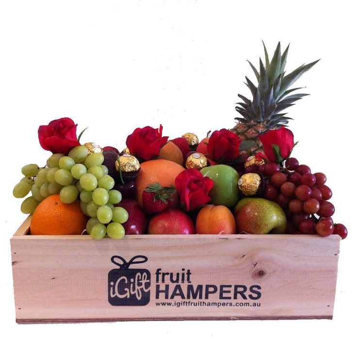 iGift Fruit Hampers - Fruit Hampers only with Red Roses   Ferrero Chocolates - FREE SHIPPING, $99.00 (https://igiftfruithampers.com.au/fruit-hampers/fruit-hampers-only-with-red-roses-ferrero-chocolates-free-shipping/)