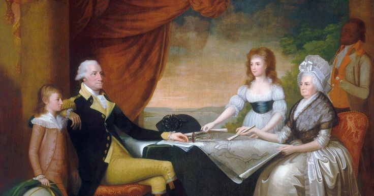 George Washington's family tree is biracial after historians prove that his adopted son fathered children with slaves