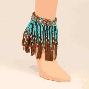 Native American Fringe Boot Bracelet