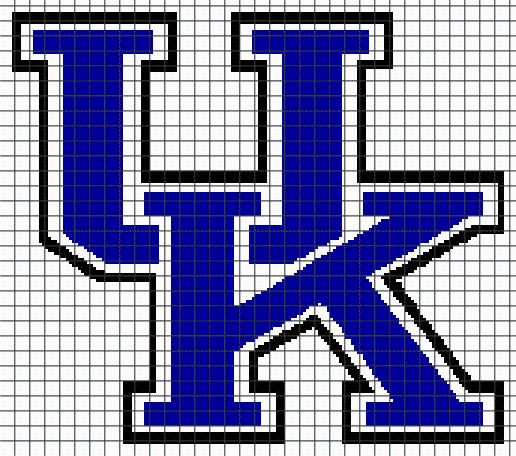 Looking for your next project? You're going to love UNIVERSITY OF KENTUCKY Graphghan Pattern by designer YarnLoveAffair.