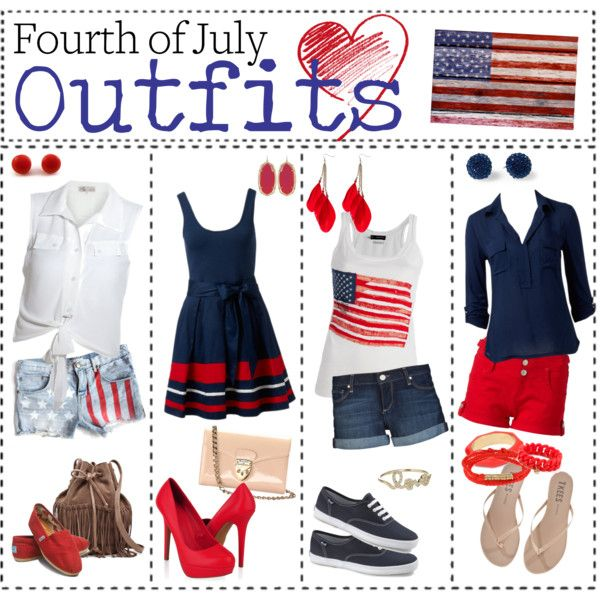 4th of july outfits polyvore