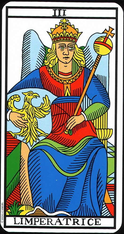 Arcane III : L'Impératrice - Tarot de Camoin & Jodorowsky.