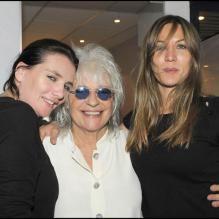 Représentation du spectacle Au delà des murs de Catherine Lara, le 23 juin 2009 : avec Marie-Amélie et Mathilde Seigner<br />