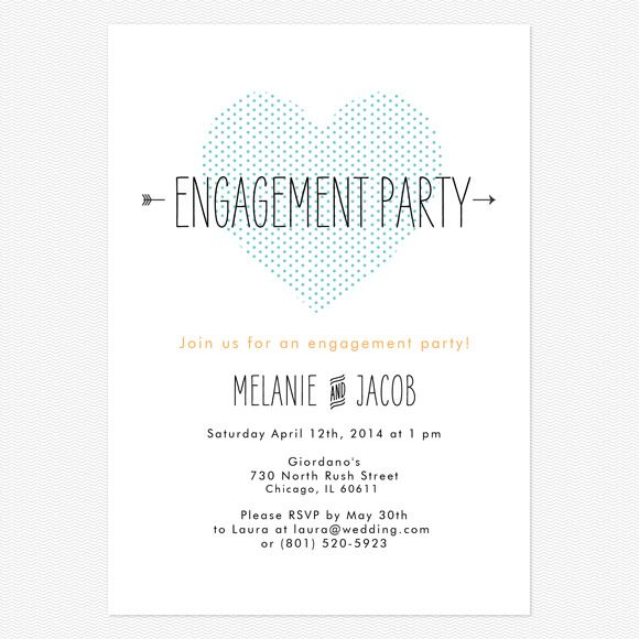 9 best images about Engagement Party Invite on Pinterest Fonts - free engagement party invites