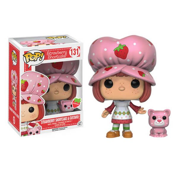 Strawberry Shortcake and Custerd Scented Funko Pop! Figuur