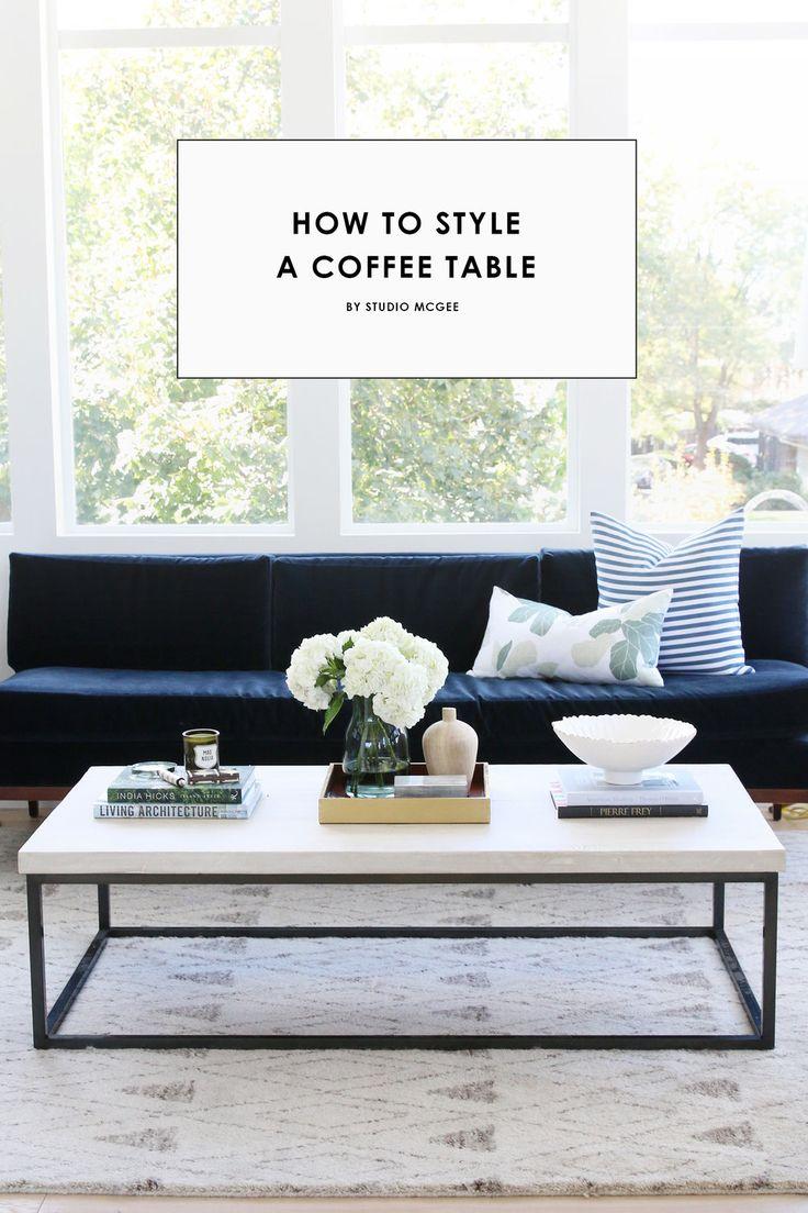 Best 25 coffee table displays ideas on pinterest coffee table how to style a coffee table geotapseo Gallery