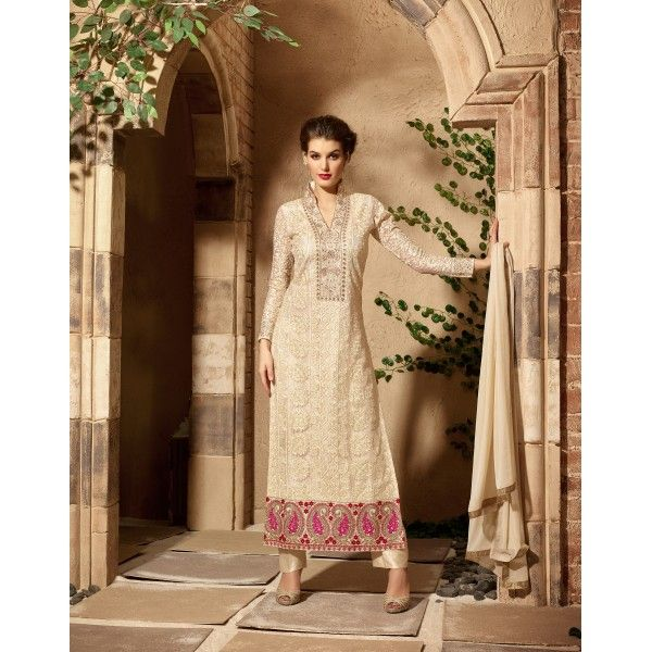 INDIAN RAG Pure Net Semi Stitched Dress Material