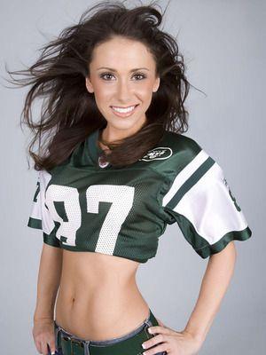 The Sexiest NFL Football Jersey Wearing Fans | Jenn sterger, Hot ...