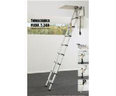 ESCALERA PLEGABLE TELESCOPICA MODELO T-240