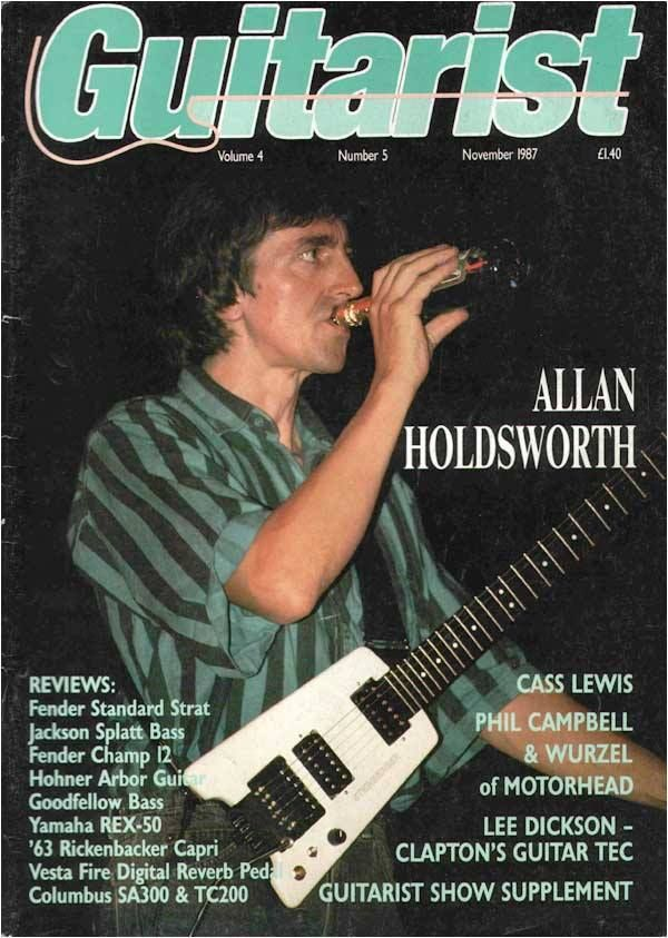 Allan Holdsworth With IOU Metal Fatigue