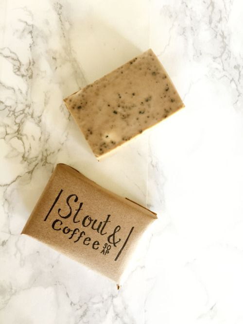 DIY Beer and Coffee Exfoliating Soap Recipe from Make Scout.This recipes uses a melt and pour soap base, so it's nice and simple. Beer, coffee and coffee grinds are also used. For homemade soaps like Orange Clove Gardener's Soap and many more go here: diychristmascrafts.tumblr.com/tagged/soap and for more DIY beauty and spa recipes including roundups from 2012, 2013 and 2014 go here.
