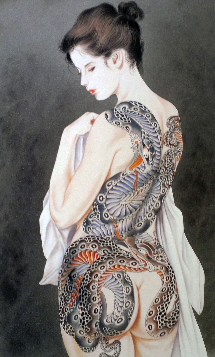 Nude tattooed asain women share your