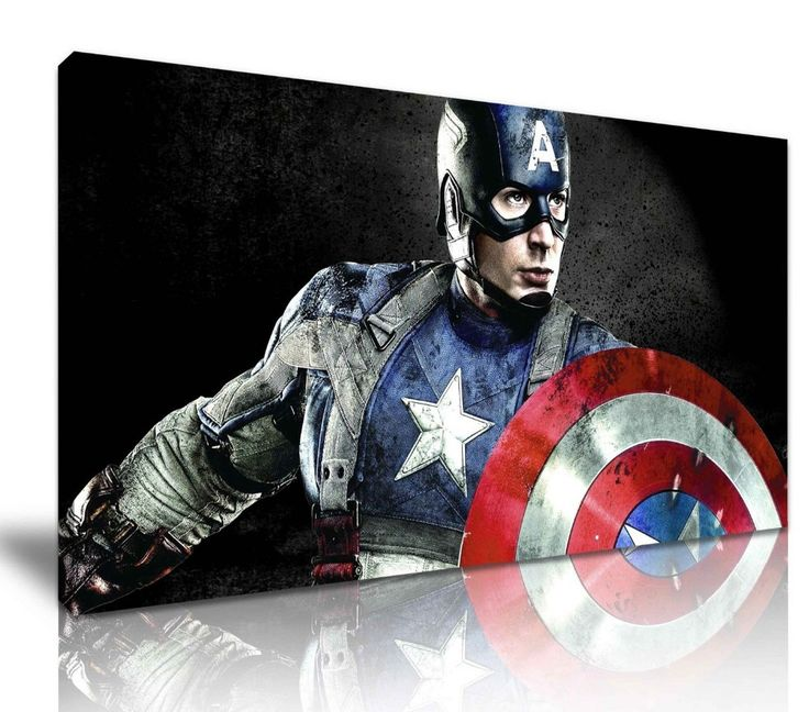 CAPTAIN AMERICA The Avengers   painting #2016 TOP Handpaint  Decor ART --oil Painting Work on canvs -24*36 inches